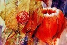 art - akvarel