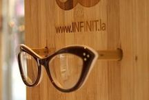 Bespectacled Branding / Brand building with eyes and #eyeglasses or just funny frames and shady spoofs