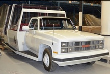 Popemobile / Pope John-Paul II visited Canada in 1984. This GM Canada Sierra Classic pick-up truck was one of two modified by Camions Pierre Thibault Inc to have a bullet-proof plastic enclosure at the rear.  Pope John-Paul II was so impressed by this Canadian version of the Popemobile that one was  sent to Italy for use at the Vatican. / by Canada Science & Technology Museums Collection