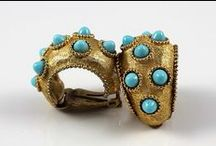 Vintage Jewelry / I love vintage jewelry because I love unique and unusual pieces. Vintage jewelry can be expensive, but with a little luck and lots of browsing you can find great pieces at affordable prices.  For my main jewelry board, see here: http://www.pinterest.com/juicystuff/jewelry/
