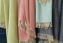 BPH Cape Island Throws / Products available through our store, The Blue Peacock.