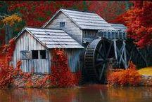 architecture - Mill / Mlyny všetkých druhov .... pre inšpiráciu