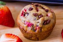 Muffin ♥ / Blueberry, Strawberry, Peanut Butter, Oatmeal, you name it we love #muffins / by ღ Jodi Shaw // rantsnrascals.com ⊱╮