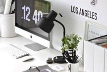 inspiration :: office / spruce up your workspace with these delightful decor ideas...