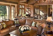 decor :: rustic / give your home a touch of the traditional with these timeless decors, inspired by a rustic and rural environment...