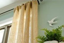 tips :: cleaning curtains / hint, tips and handy tricks for keeping your curtains looking clean, fresh and feeling like new...