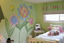 kid's room inspiration / great decorating ideas for delightful children's rooms
