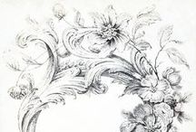ornamental / examples and inspiration for beautiful ornamental artwork and finishes, baroque, rococo, architectural ornamentation