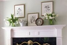 House: Decor Mantel / Beautiful mantel decorating ideas for your #fireplace. This is the place where you can post your favorite #mantel decor ideas. Please share your best mantel decor ideas for the day to inspire others for home decor. To collaborate and curate on this board, contact me at email@sengerson.com / by Sengerson - Lifestyle Blogger & Family Photographer