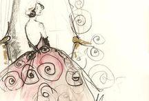 Sketchy Fashion / by Jill Graham