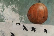 halloween/autumn / halloween art and decor