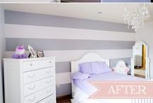House: Nursery Girl Purple White Grey / Board dedicated to lavendar, purple, white, grey, and cream nurseries. Please share your best nursery ideas for the day to inspire others for home decor. To collaborate and curate on this board, contact me at email@sengerson.com  #homedecor #homestyle #sengerson #nursery