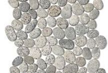 Rock and Pebble Mosaic Tile / Rock and Pebble Mosaic tile from The Tile Shop, that will give your home an earthy or rustic feel. / by The Tile Shop