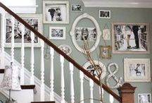 House: Staircase / This board showcases gorgeous was to decorate staircases and walls along staircases for the home. Please share your best staircase decor and wall art finds for the day to inspire others for home decor. To collaborate and curate on this board, contact me at email@sengerson.com