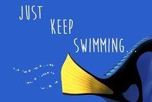 Dory - Just Keep Swimming / #JustKeepSwimming #DoryIsMySpiritAnimal