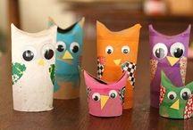 Kids Crafts / by Hollie C'krebbs