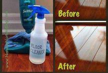Cleaning / by Hollie C'krebbs
