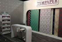 TEMPAPER CLASSIC COLLECTION / Our first ever collection for Tempaper.  On this board you will find serene neutrals, vibrant new patterns and bold geometric shapes on the walls of unique environments. Please visit www.tempaperdesigns.com for more information and to view the entire collection!