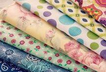 Fabric LOVE / by Christy Noelle | Noelle Grace Designs