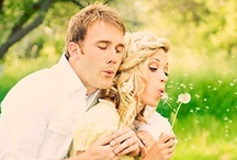 """Engagement Photo Ideas / Some ideas I like: """"Dream"""" Theme, Family photos, quotes on chalkboards, newspaper heart cut-outs, paddle boats, bikes, empty photo frames, sparkles, bubbles. / by Miss Chelsey"""