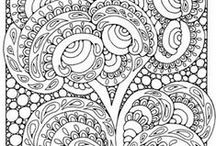 Drawing and colouring / Adult colouring pages! Drawing tutorials! And more! fabulous stuff / by Cecyle