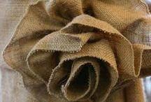 Burlap / Anything burlap, seriously.  / by Cecyle