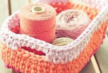 Home knit (and crocheted) / Knitting and crochet patterns for the home / by Cecyle