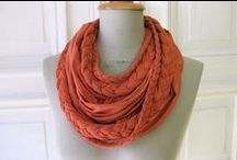 Scarves / Ingenious ways to dress with scarves / by Cecyle