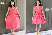 Homemade dresses / Everything dresses from dying the fabrics to making them out of tablecloths or sheets! Lots of great DIY ideas for dresses... / by Cecyle