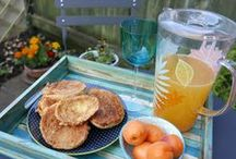 Breakfast in Style / I invite you to have a virtual breakfast and coffee at Teodora Paintings art studio :).