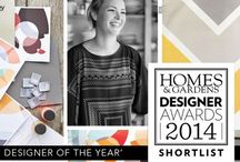 Homes & Gardens Design Awards 2014 / The shortlist for 2014 has been announced! / by Lindsey Lang Design Ltd.