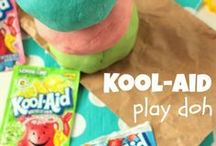 Crafty kids - Playdough and goop / All kinds of play dough and goop ideas for wee creative minds / by Cecyle