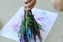 Crafty kids - Painting and art / Creative art for creative kids / by Cecyle