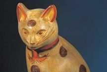 Cats of the Folk Art Museum