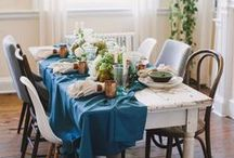 Set The Table / Table tops that inspire from talented Southern designers.
