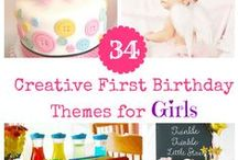Baby's First Birthday Party Ideas for Girls / by Christy Noelle | Noelle Grace Designs