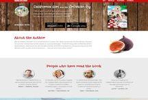 One Page Website Designs / One page website designs by Design Freak | www.designfreak.me   #OnePage #WebDesign #Design #designfreak