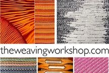 The Weaving Workshop / offering online creative weaving studies to motivate, inspire, and provide practical tips for time spent at the loom. www.theweavingworkshop.com
