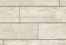MEET WOOD PLANKS / Wood Planks Natural is part of the Tempaper Textured Collection. Create a farmhouse look with this horizontal wood planks design. Sure to be a favorite given the current surface and texture trend that has emerged the last few years. Our Wood Planks is a smooth surface.  Wood Planks is self-adhesive and removable wallpaper sold as 1 double roll of 20.5 in. x 11 yds. = 56.37 sq. ft.  Wood Planks Repeat is 24 inches.