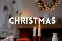 Christmas SEASONAL IDEAS / My favorite holiday of the year: Christmas! Various ideas to make your Christmas the best ever.