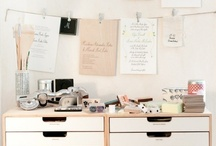 Organized Office / Creatively organized offices and the tools to organize them. / by StacksandStacks ClutterControlFreak