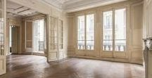 Parisian Apartment / Paris inspired decor for a Parisian apartment or home wherever you live. Every Day Parisian