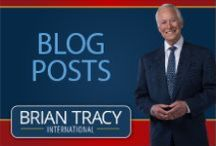Brian Tracy's Blog Posts / Brian Tracy is chairman and CEO of Brian Tracy International, a company specializing in the training and development of individuals. His blog posts on goal setting, leadership, sales, managerial effectiveness and business strategy are loaded with powerful, proven ideas and strategies that you can immediately apply to change your life. To read more  blog posts, please follow this link: http://www.briantracy.com/Blog