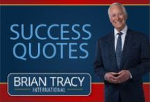 Quotes on Success / Brian Tracy is chairman and CEO of Brian Tracy International, a company specializing in the training and development of individuals. His fast-moving talks and seminars on goal setting, leadership, sales, managerial effectiveness and business strategy are loaded with powerful, proven ideas and strategies that you can immediately apply to change your life. To receive motivational quotes on success and Quote of the Day newsletters, please follow this link:  http://www.briantracy.com/quotes