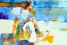 AndreaMerican.com Beach Series / Paintings done in oil or watercolor by Andrea Merican, local Arizona artist. For her full line of work, go to www.andreamerican.com