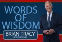 Words of Wisdom / Brian Tracy's words of wisdom. To read more blog posts, please follow this link: http://www.briantracy.com/Blog