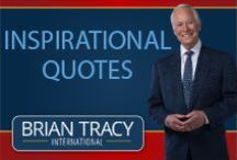 Inspirational Quotes / Brian Tracy is chairman and CEO of Brian Tracy International, a company specializing in the training and development of individuals. His fast-moving talks and seminars on goal setting, leadership, sales, managerial effectiveness and business strategy are loaded with powerful, proven ideas and strategies that you can immediately apply to change your life. To receive inspirational quotes on success and Quote of the Day newsletters, please follow this link:  http://www.briantracy.com/quotes