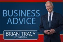 Business Advice / Follow this board to receive tips and advice to help build your business and maintain business connections. This is great business advice from Brian Tracy for business owners, entrepreneurs, and hustlers.