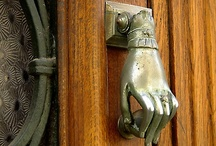 Door Knockers / by StacksandStacks ClutterControlFreak