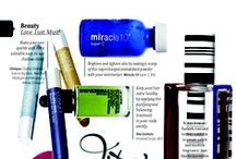 Media Attention! / See Miracle 10 in the Beauty Magazines. #editorials #magazines #skincare #Canada